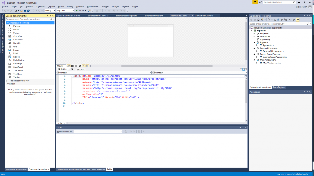 Visual Studio IDE C#