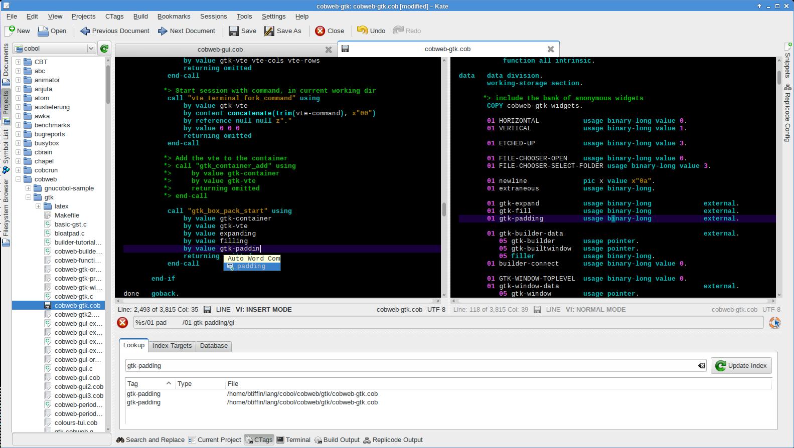 open cobol compilador