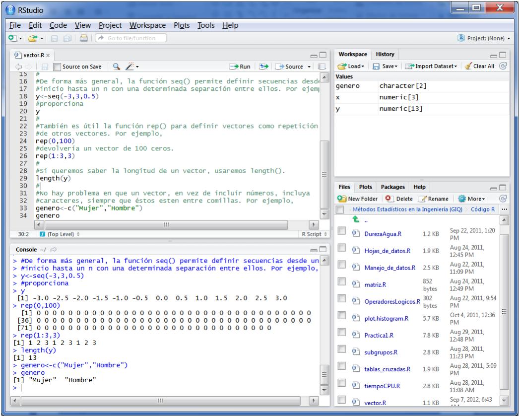 r studio ide lenguaje programacion