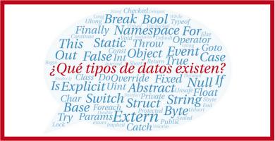 que tipos de datos existen en programacion