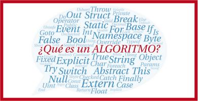 que es un algoritmo