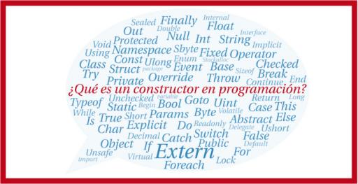 que es un constructor en programacion orientada a objetos